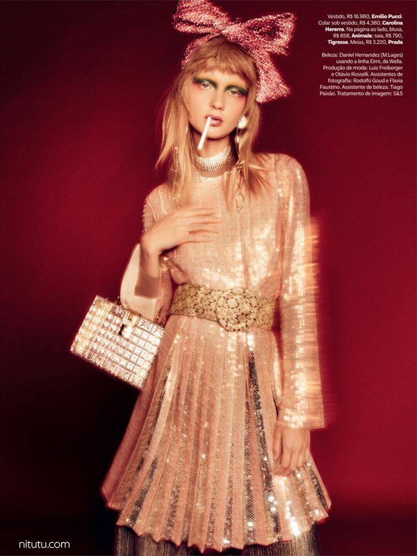Yana Trufanova《Vogue》巴西版2016年9月号