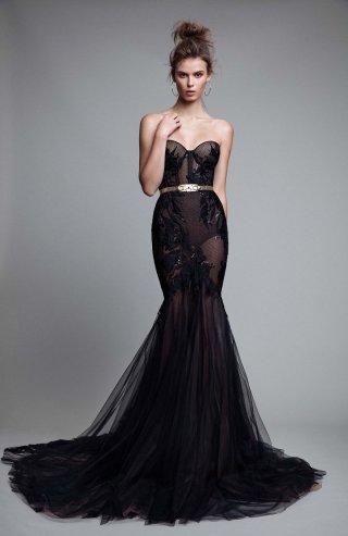 以色列婚纱品牌BERTA 2017晚礼服系列Lookbook