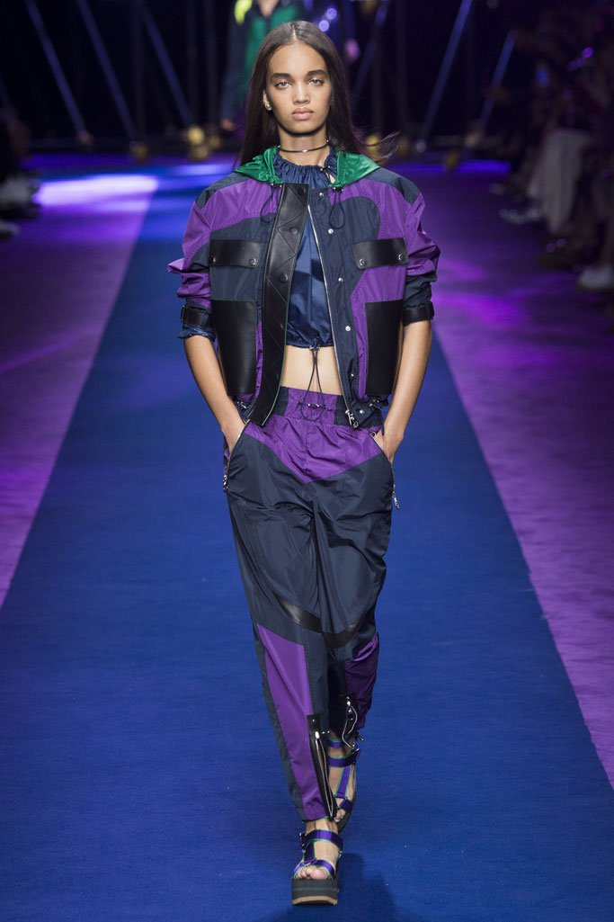 Versace 2017春夏流行发布