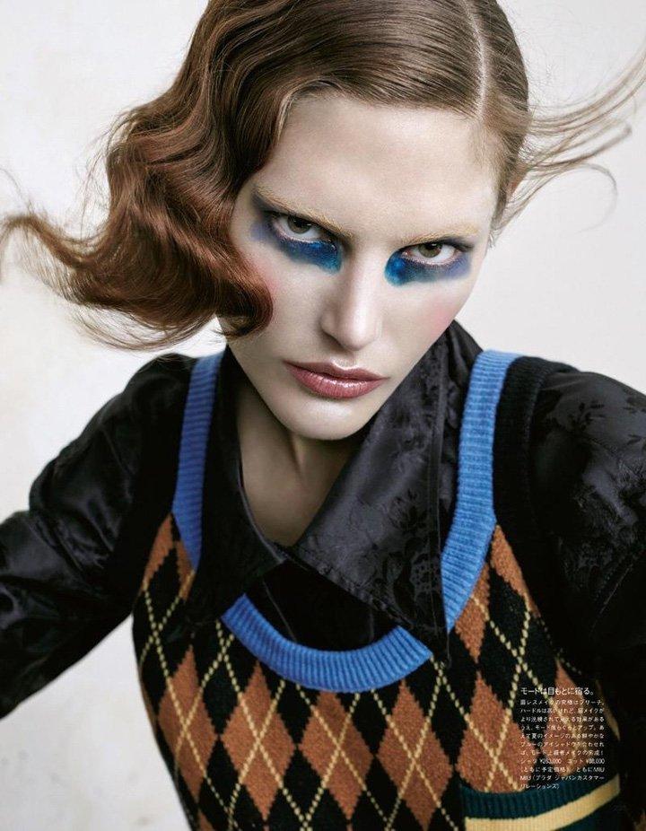 Catherine McNeil《Vogue》日本版2016年11月号