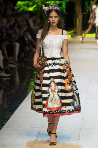 Dolce & Gabbana(杜嘉班纳)2017米兰时装周女装秀