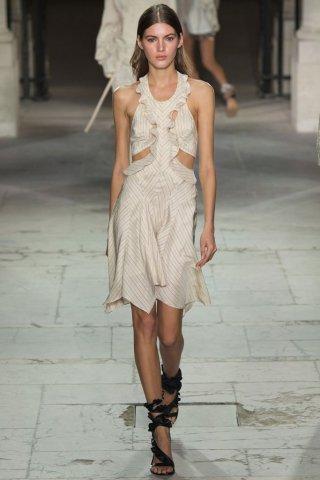 Isabel Marant(伊莎贝尔·玛兰)2017巴黎时装周时装秀