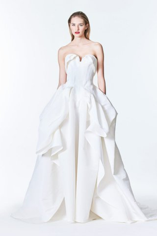 Carolina Herrera 2017最新婚纱礼服系列
