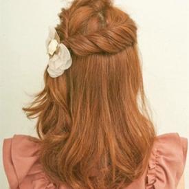 甜美发型扎法图解 真的不要太甜美