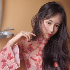 韩国长卷发发型 助你秒变神女