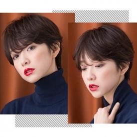 脑门大的女生适合什么发型 巧用刘海发型修饰不完美