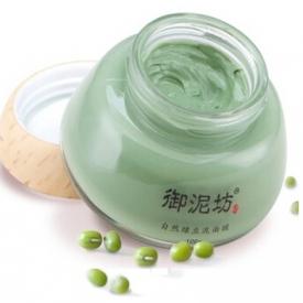 御泥坊绿豆泥浆面膜怎么样 油性混合性皮肤的福音