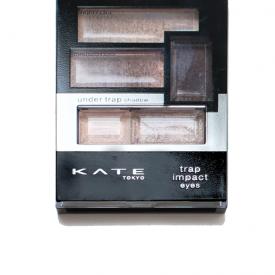 KATE渐层心机眼影盒BR1试色 深邃眼妆教程