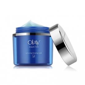 olay水漾动力弹嫩睡眠面膜 为你的肌肤补水保湿一整夜