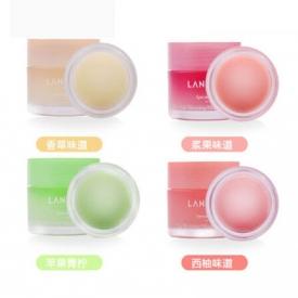 兰芝唇膜哪个味道好用 选择自己喜欢的味道和颜色就行啦