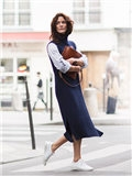 针织连衣裙图片,找到合你心意的那一款