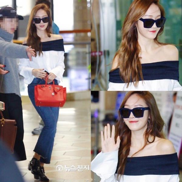 郑秀妍Jessica服装搭配图片