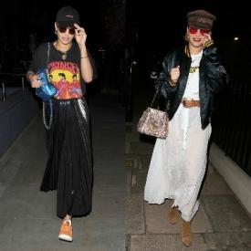 Rita Ora近期街拍合辑  小riri风格百变