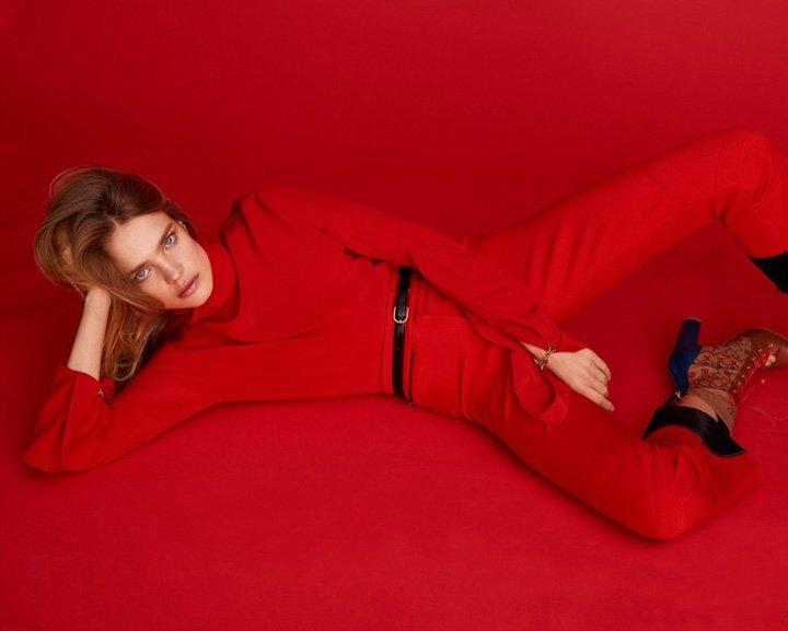 Natalia Vodianova《Harper's Bazaar》西班牙版2016年12月号