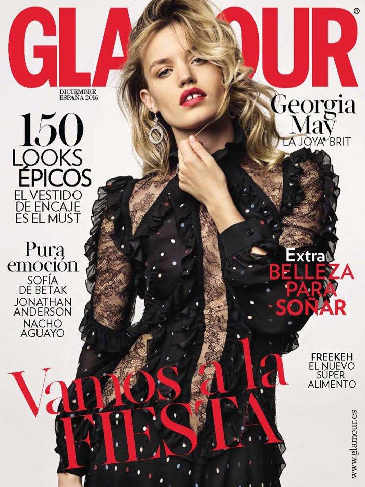 Georgia May Jagger《Glamour》西班牙版2016年12月号