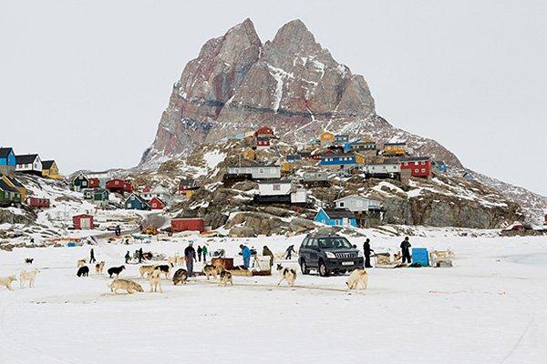 Camille Michel摄影作品:格陵兰岛的诗意和神话