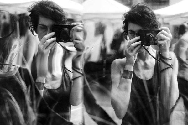 Melissa Breyer街头黑白摄影作品