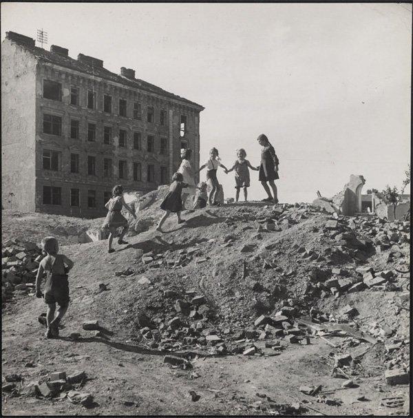 David Seymour摄影作品:战争的孩子