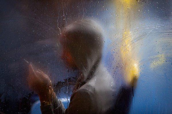 Nick Turpin摄影作品:夜行巴士
