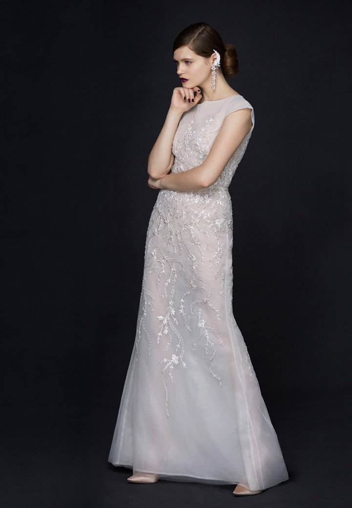 Alan Hannah 2017「瓷器」系列婚纱广告大片