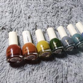 H&M指甲油试色 网红指甲油试色