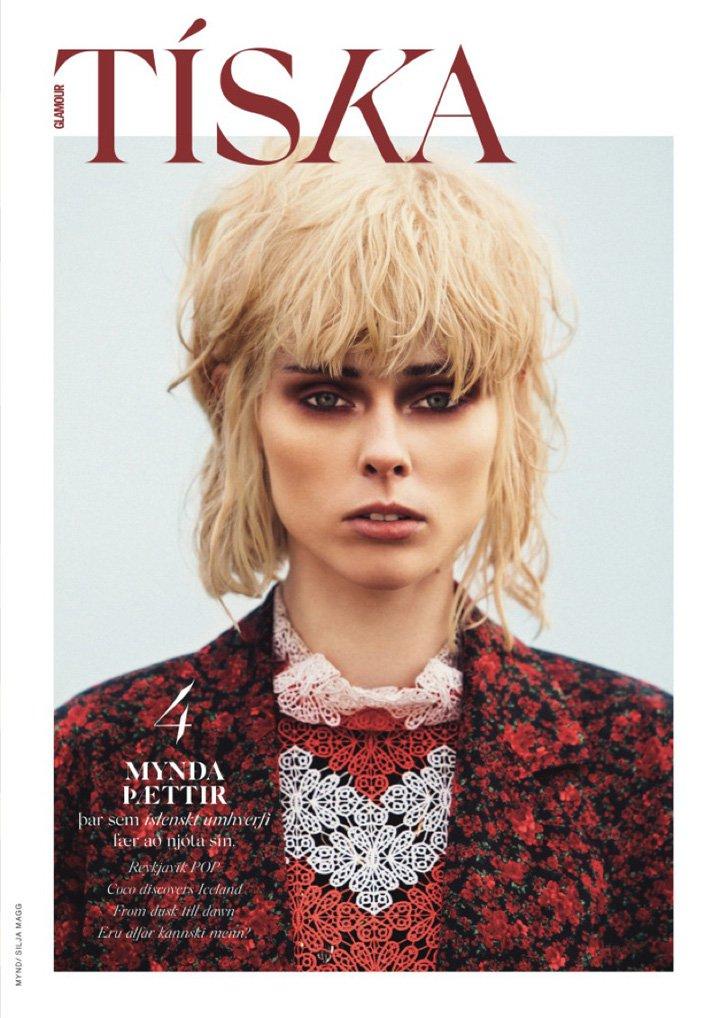 Coco Rocha《Glamour》冰岛版2016年12月号