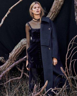 超模Estee Rammant 演绎《Grazia》时尚杂志摄影大片
