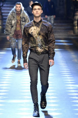 Dolce & Gabbana(杜嘉班纳)2017米兰时装周男装秀