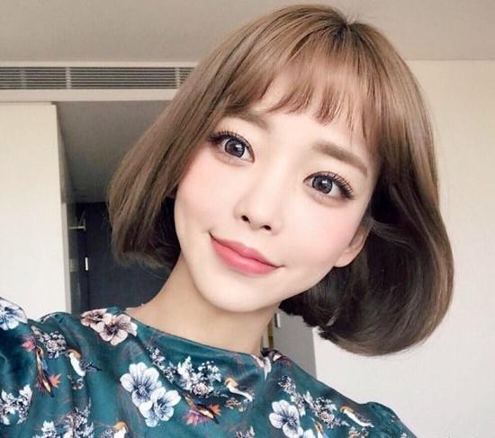 韩式短发发型 这些款式让你美成仙