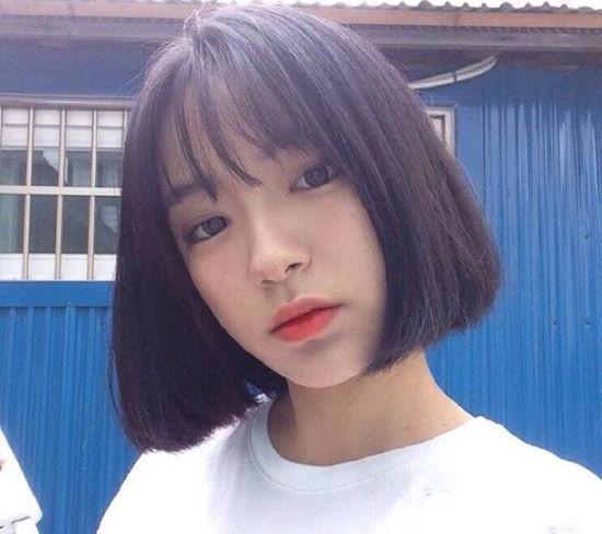 韩版短发发型图片2016女