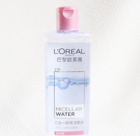 欧莱雅三合一卸妆水怎么样 轻松卸妆肌肤水润润