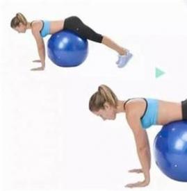 瑜伽球瘦肚子动作 7个动作练就完美腹型