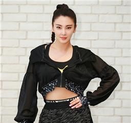 张雨绮参加PUMA活动 运动装扮大秀好身材