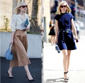 半身裙搭配什么上衣 时髦女王教你穿出优雅女人味