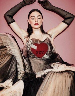 Jacquelyn Jablonski演绎《Vogue》杂志时尚大片