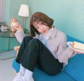 韩国空气刘海短发发型图片 甜美女生都大爱!