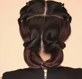 长发盘发发型步骤图解 教你打造心机美盘发