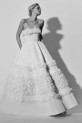 Carolina Herrera 2018春夏婚纱礼服系列