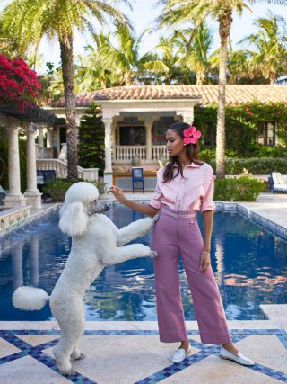 超模Joan Smalls 演绎《Harper's Bazaar》时尚杂志大片
