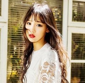 夏季女生空气刘海发型图片 绝对够小清新