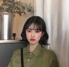 蛋卷头短发发型 韩国妹子大爱款短发