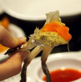 蟹黄是螃蟹的什么 雌性大闸蟹最大营养在蟹黄