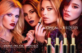 巴黎欧莱雅携手BALMAIN推独家美妆系列L'OREAL×BALMAIN