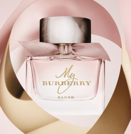 "Burberry释出""My Burberry Blush""雅致香水"