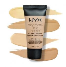 nyx粉底液怎么样 哑光立体塑颜矿物粉底液测评