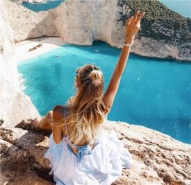 德国时尚博主Leonie Hanne近期旅行穿搭精选 看完让你爱上夏天!