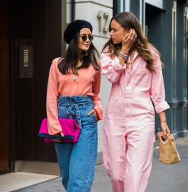粉色配蓝色好看吗 谁还不是少女了呢