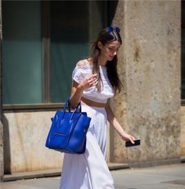 白色裙子配什么鞋子 6种搭配花样玩转白色裙子