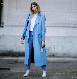 雾霾蓝搭什么颜色 彰显你的淡雅气质