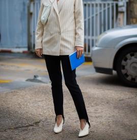 V口鞋 尽显女人的优雅和气质